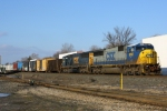 A pair of SD60M's lead Q433.