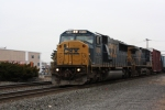 CSX 8749 leads the Q439 southbound.
