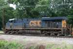 CSX 5268 leading Q602 out of town