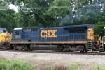 CSX 5972 on Q602