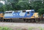 CSX 6037 on Q602