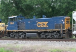 CSX 1164 on Q602 heading for the WX shop