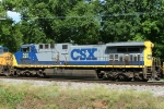CSX 501 DIT on Q602 heading for the shop
