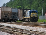 CSX 5825 parked for the weekend