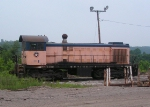 Bayou Steel in-plant switcher (leased from Relco).