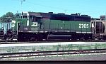 BN 2905 was rebuilt from a Frisco GP35