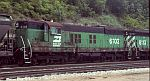 BN 6102 is still good for freight service