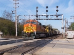 BNSF 5354 and a pair of matching ATSF GP60s