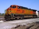 BNSF 4840 (C44-9W) tied down in the CSX yard