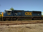 CSX 4743 (SD70MAC) panoramic view