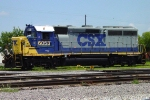 CSX 6053 (GP40-2), remote control unit, in CSX yard