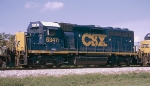 CSX GP40-2 #6347, trailing unit on Q681-25,