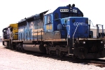 CSX 8819 (SD40-2) awaiting call to power A737-8, Dothan local