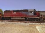 HLCX 6073 (SD40M-3) parked in front of the CSX yard office