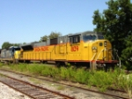 UP 8139 (SD9043MAC) in the weeds of the CSX yard