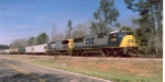 CSX train A736-09 (Dothan-Banks turn)