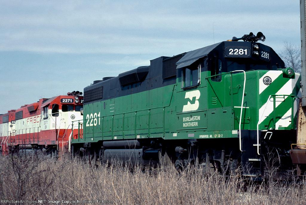 Burlington Northern GP38-2 #2281