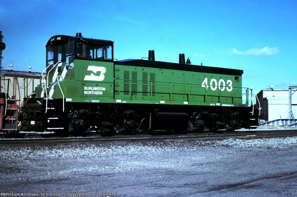 Burlington Northern MP15 #4003, built March 1975,