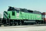 Burlington Northern GP38AC #2121