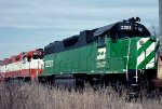 Burlington Northern GP38-2 #2281