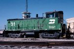 Burlington Northern SW1500 #31 in East Thomas Yard
