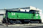 Burlington Northern SW1500 #34