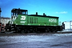 Burlington Northern MP15 #4003, built March 1975,