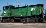 Burlington Northern SW1500 #57