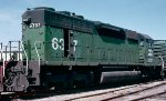 Burlington Northern SD40 #6337