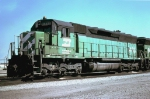 Burlington Northern SD45 #6435, built May 1966,