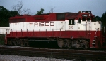Frisco GP38AC #640, service as power for the Winfield Road-Switcher, tied-down