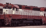 Frisco SD45 #933, in East Thomas Yard,