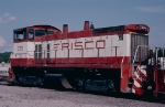 Frisco SW1500 #325 in East Thomas Yard