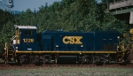 CSX MP15T #1226, looking good as its 25th birthday approaches, is Waycross bound