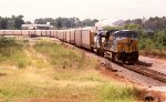 CSX ES40D #5419 leads an auto train off the Lineville Subdivision