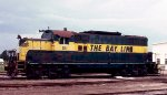 Atlanta & Saint Andrews Bay GP7 #511 outside the Sherman Yard Diesel Shop