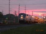 amtrak 30 arriving at sun down