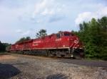 CSX G766 grain train