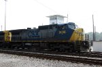 CSX 9006 passes CO yard tower