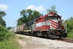 CKIN grain train headed for Wellsboro