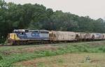 CSX 6127 leading a now rare M742