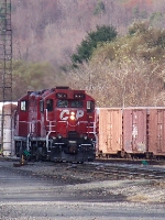Into the Conklin Yards....