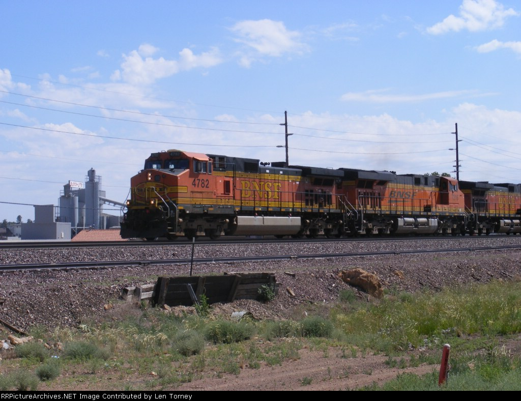 Eastbound container train