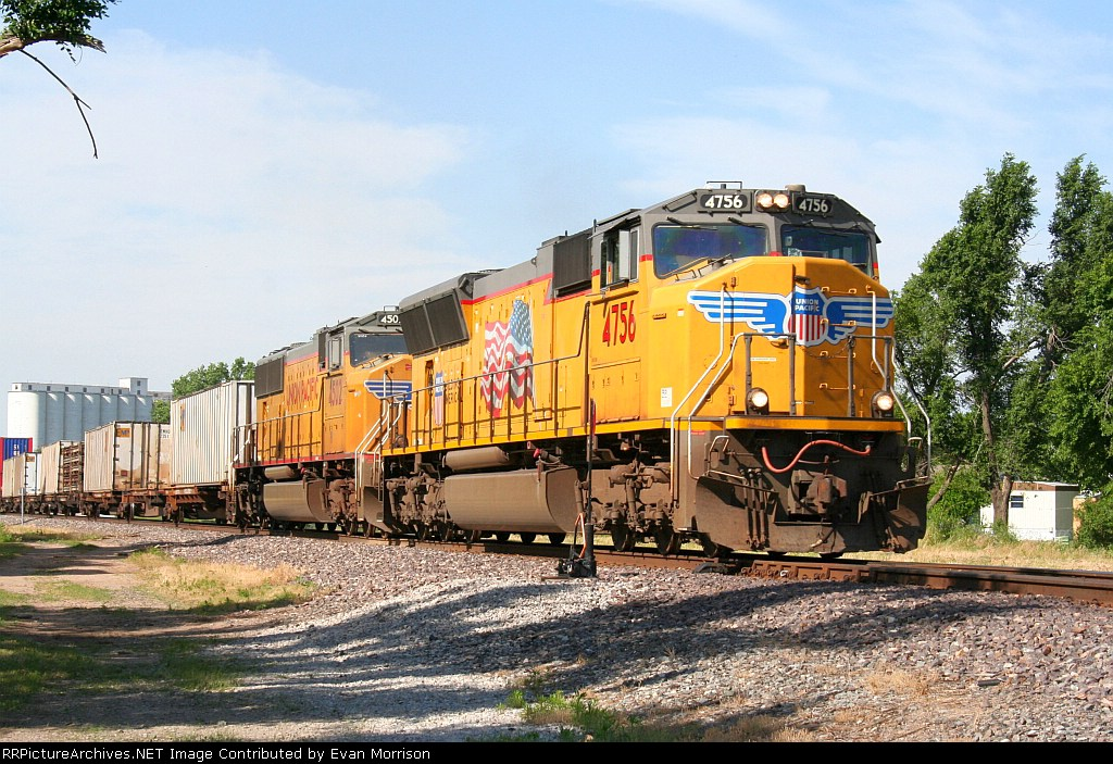 UP 4756 Leads The ZTUCS East