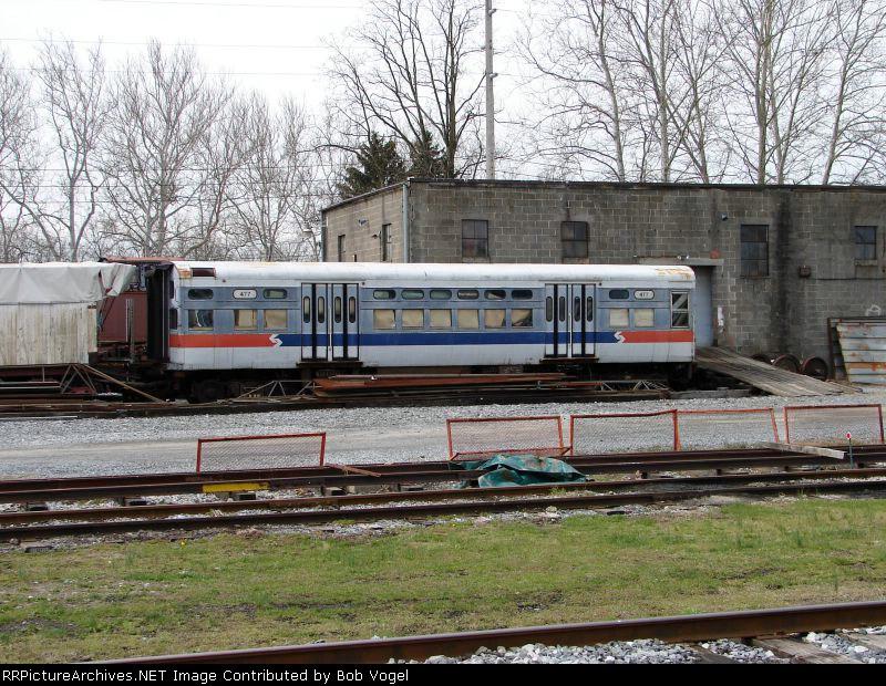 SEPTA CTA P&W car 477