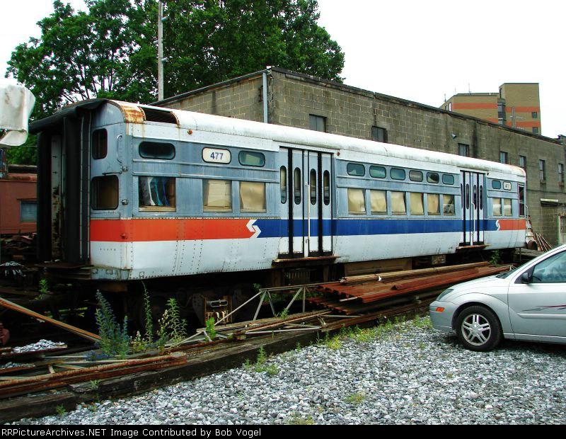 P&W CTA L car 477