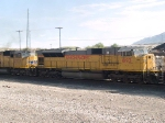 UP 8193 #4 power in a WB doublestack at 8:53am