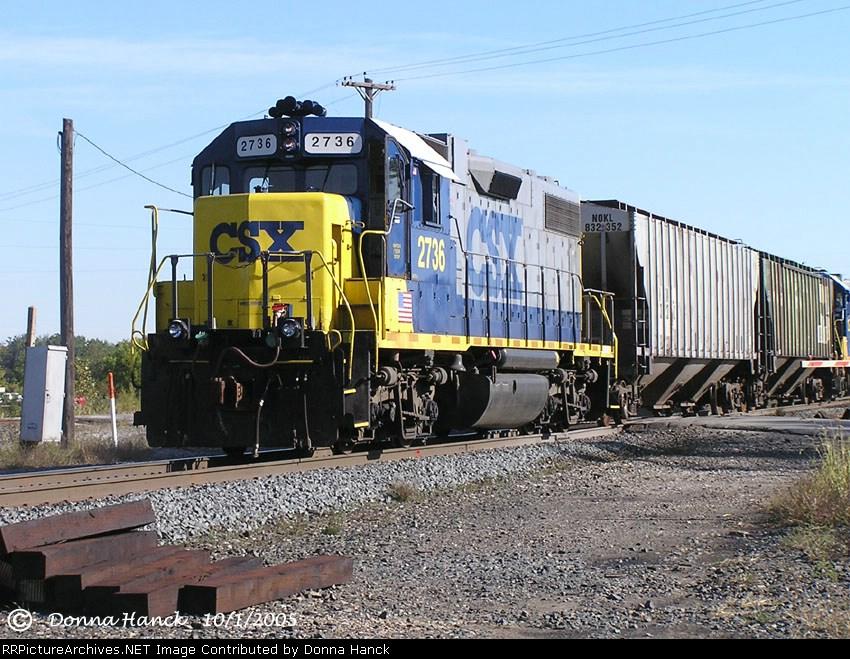 CSX 2736
