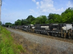 Norfolk Southern 5035 and 5554