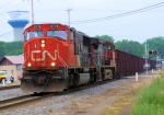CN 5776 With Loaded Herzog Ballast